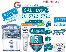 exjh87H7yt43 WATER PURIFIER AC DTH WATER FILTER RO .   ONE YEAR BRAND
