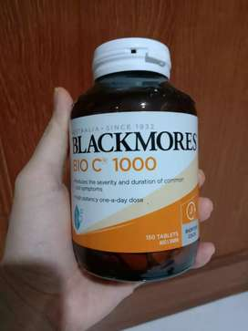 Di jual blackmores bio C 1000. 150 kapsul exp date 04/23