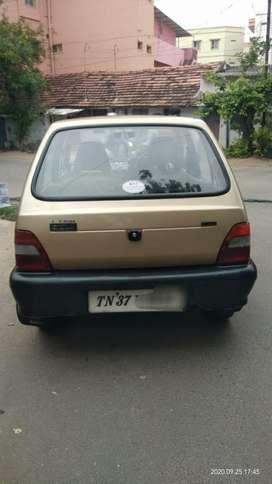 Maruti Suzuki 800, 2000, Petrol