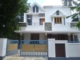 thrissur marathakara 6 cent 4 bhk stylish villa