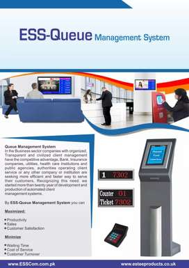 Queue management System- ESTEE for Offices, hospitals, Banks etc...