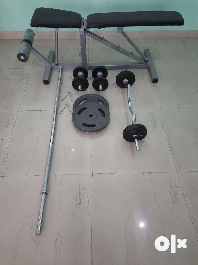 Gym setup sell