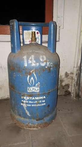 Dijual gas elpiji 12 kg (kosongan)