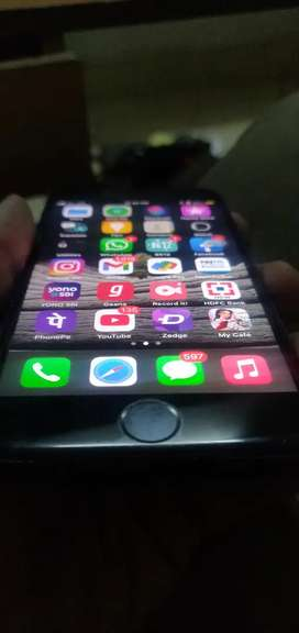 Iphone 7 For Sell 14 Months Old Matt Black  Mint Condition 32 GB