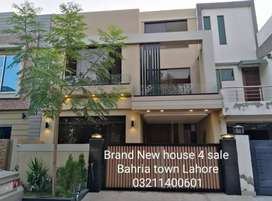 Brand New House 4 Sale in Bahria Town Lahore O32II4OO6OI