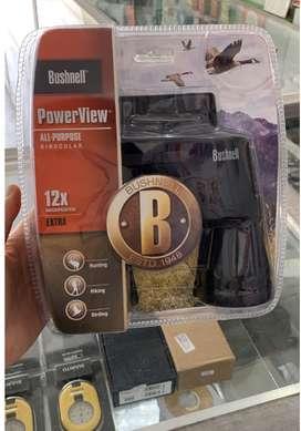 Teropong Binocular Bushnell PowerView 12x50 Original USA 100%