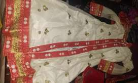 Party wear lehenga frock with dupatta