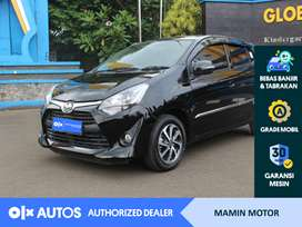 [OLXAutos] Toyota Agya 2019 1.2 G A/T Bensin Hitam #Mamin Motor