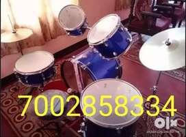 Musical instrument Drum set 100% new.