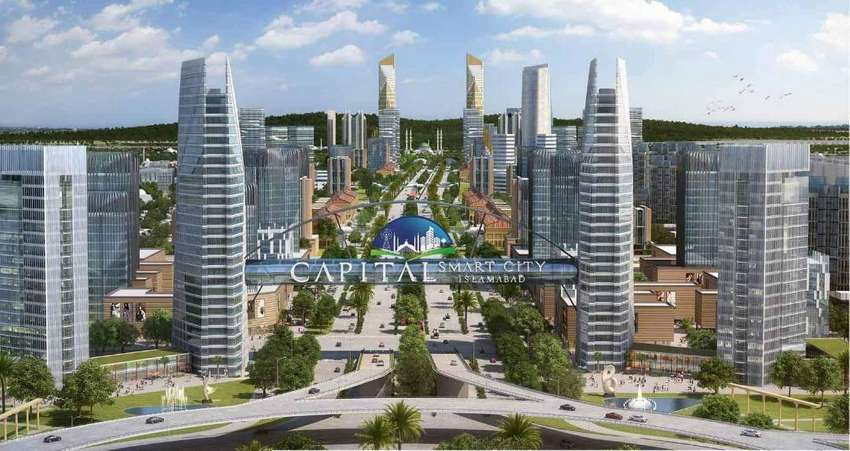 1 Kanal plot file for sale in Capital Smart City Islamabad. 0