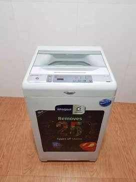 White whirlpool 6.5kg Top load washing machine