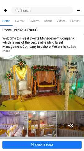 FAISAL EVENTS PLANNER