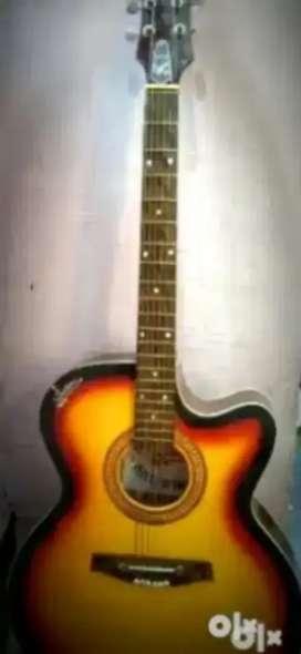 Signature aucustic guitar