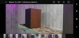 Speaker Pasif 6in Bookshelf Suara Jos