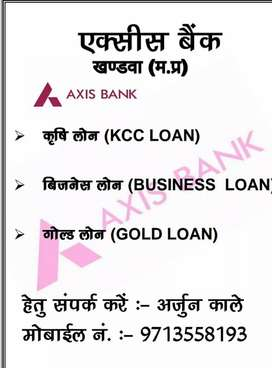 Axis Bank lone business and gold and craf lone good policy