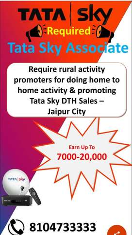 Promotor for TATA SKY, Sell and promote through activity in jaipur and