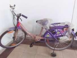 Pink ladies cycle for elders above 15 age