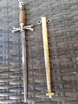 Belati Belanda / pedang antik Belanda