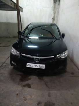 Honda Civic automatic  with cng