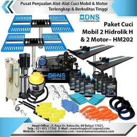 Paket Cuci Mobil 2 Hidrolik H dan 2 Motor – HM202, Hidrolik Cuci Mobil