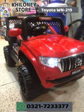 Toyota WN-219 - Kids Rechargeable JEEp