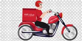 Food delivery company hiring a good delivery Boy