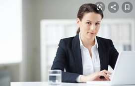 Urgently Required Back office/Tellecalluer Female