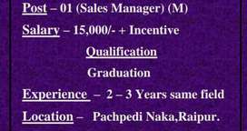 Sales executive, marketing