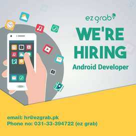 Android App Developer Required in Lahore