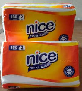 Tissue Nice 2 ply 180 Sheets