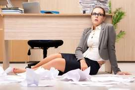 Require female personal secretary for our Office