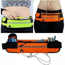 Cycling dan Running belt tas simpel dan praktis untuk olahraga
