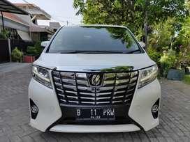 Toyota alphard 2017 G automatic 2.4 putih full ori surabaya low km