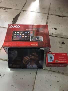 Promo paket tv mobil 9inch free kamera mundur dan masang