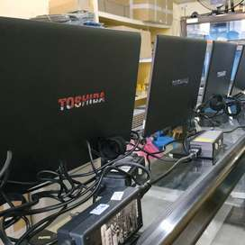 Toshiba laptop corei5 Ram4gb untuk pelajar UNBK ujian nasional 2020