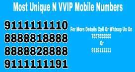 Unique vip numbers