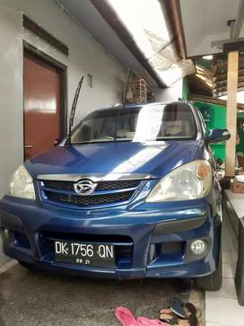 Xenia LI warna biru metalic, mobil rawatan low km baru km 54.000.
