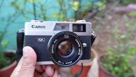 Canon Canonet QL film camera