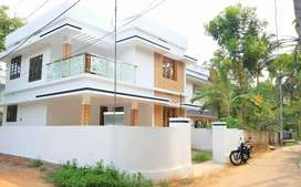 4 bhk 6.2 cents Aluva Paravoor road with bank loan