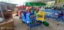 wahana mainan Odong odong EK kereta tayo mini coaster wisata koin