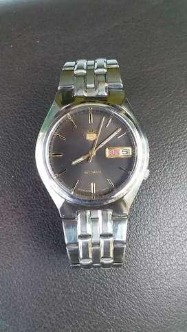 Jam tangan pria seiko 5 otomatis 7009 mulus