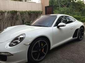 Porsche 911.1 Carrera 4S White On Red 2013 Full Option Panoramic