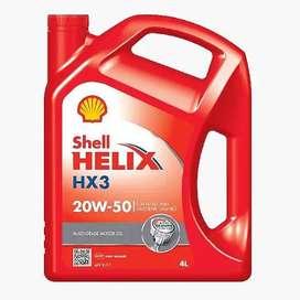 Oli mesin Shell Helix Hx3 4 Liter - Galon