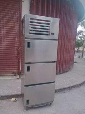 3 door steel vertical fridge .freezer