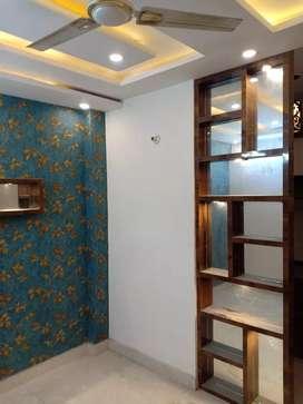 3Bhk new flat with 90% bank loan facility in uttam nagar west metro