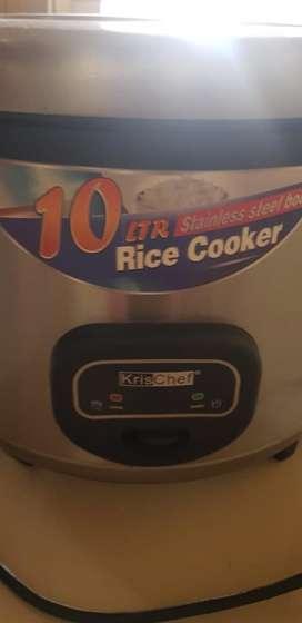 rice cooker 10L + kotak es