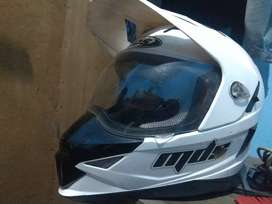Helm supermoto mds