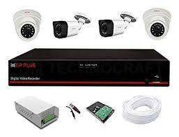 4CH CCTV Camera installation