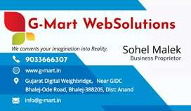Dynamic Website in Just Rs. 2500