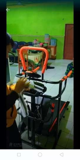 Treadmill Manual 7 fungsi  9L